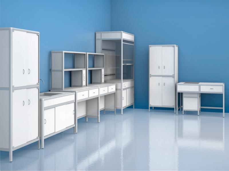 Лаборант-Биолог (исполнение 1). Комплект лабораторной мебели Лаборант-Биолог...